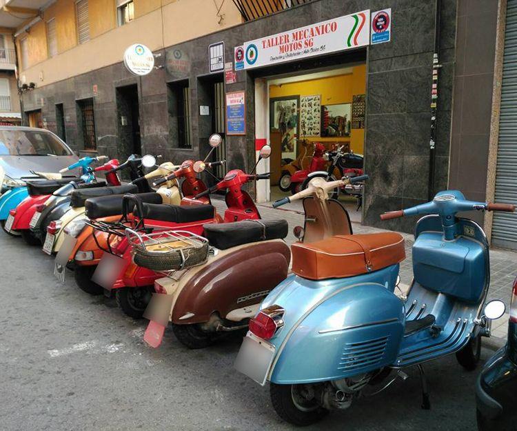 Taller de reparación de motos en Valencia