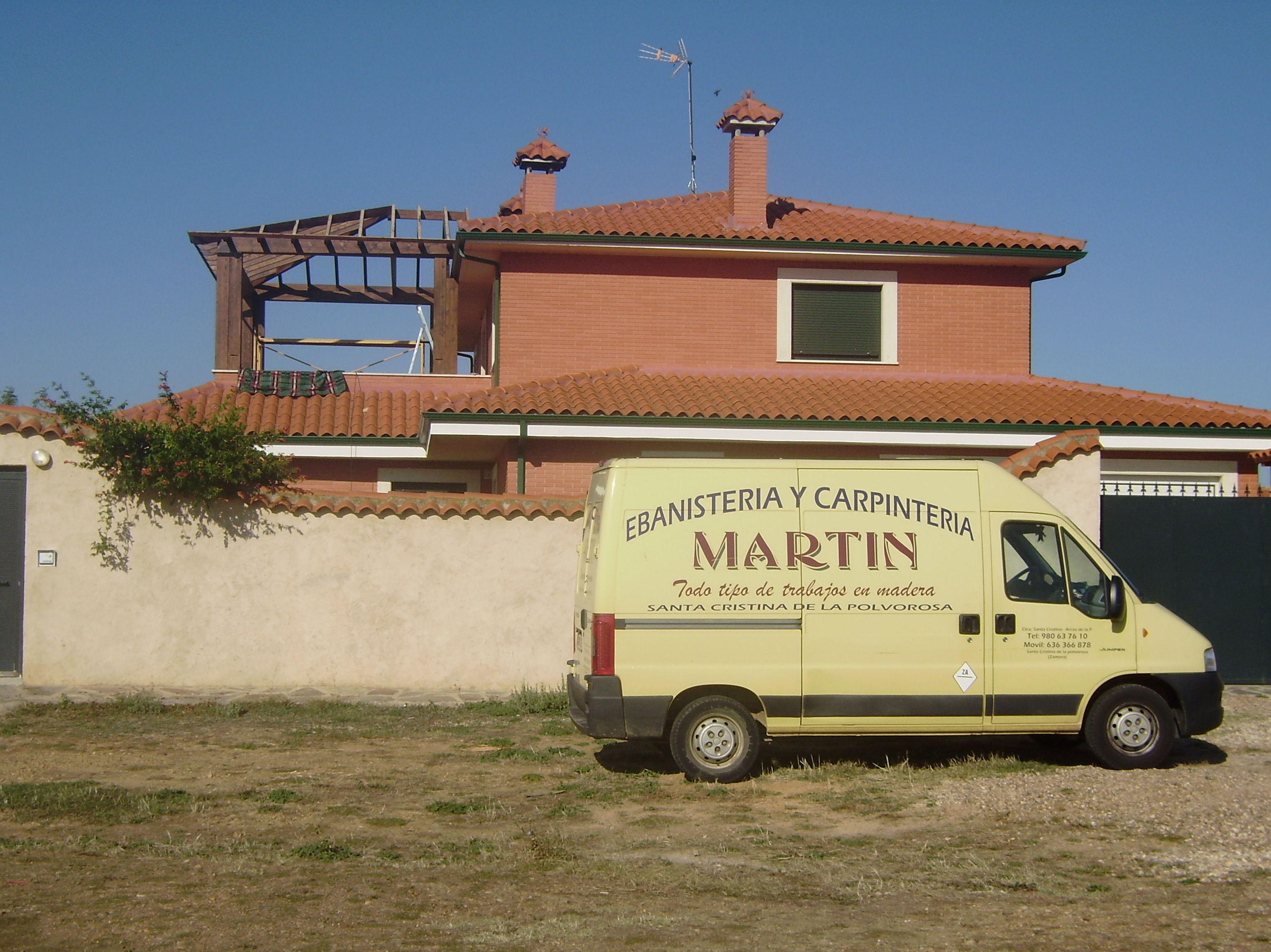 Foto 7 de Carpintería en Santa Cristina de la Polvorosa | Ebanistería y Carpintería Martín