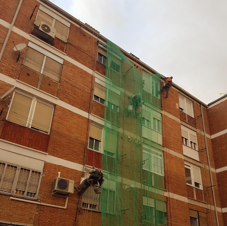 Foto 261 de Trabajos verticales en  | Rehabilitaciones y Verticales Vera, S.L.