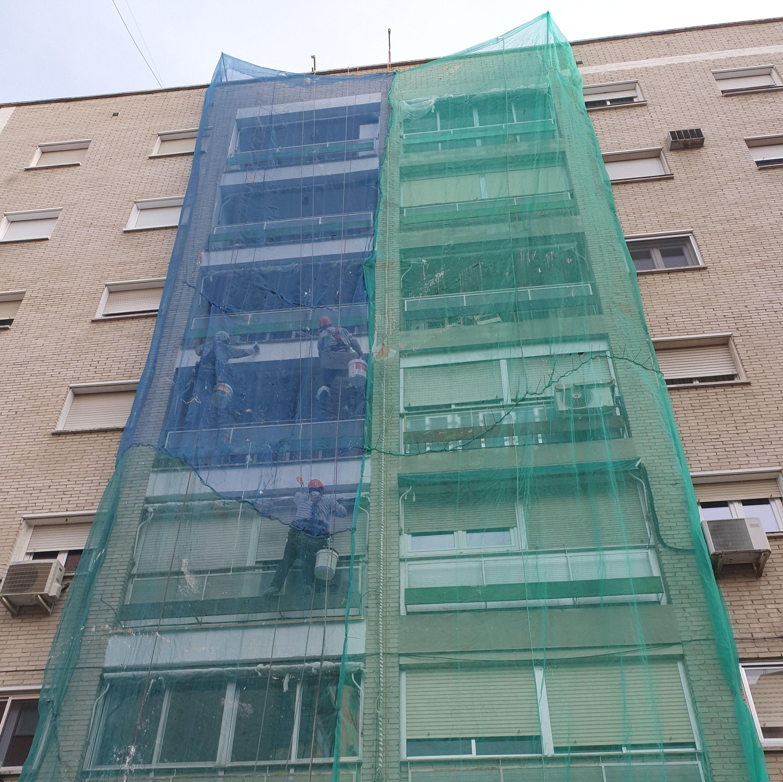 Foto 27 de Trabajos verticales en  | Rehabilitaciones y Verticales Vera, S.L.