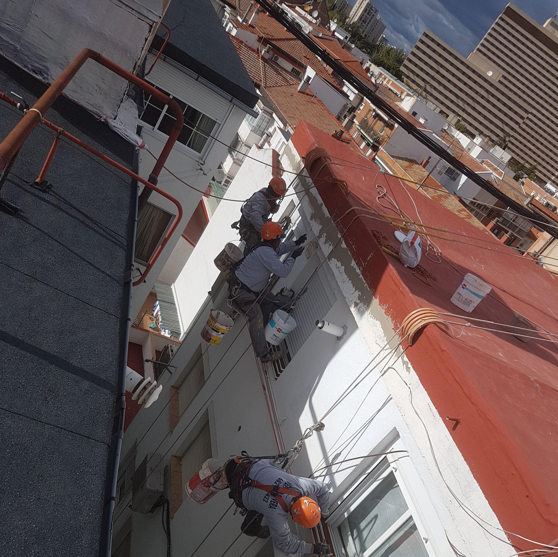Foto 198 de Trabajos verticales en    Rehabilitaciones y Verticales Vera, S.L.