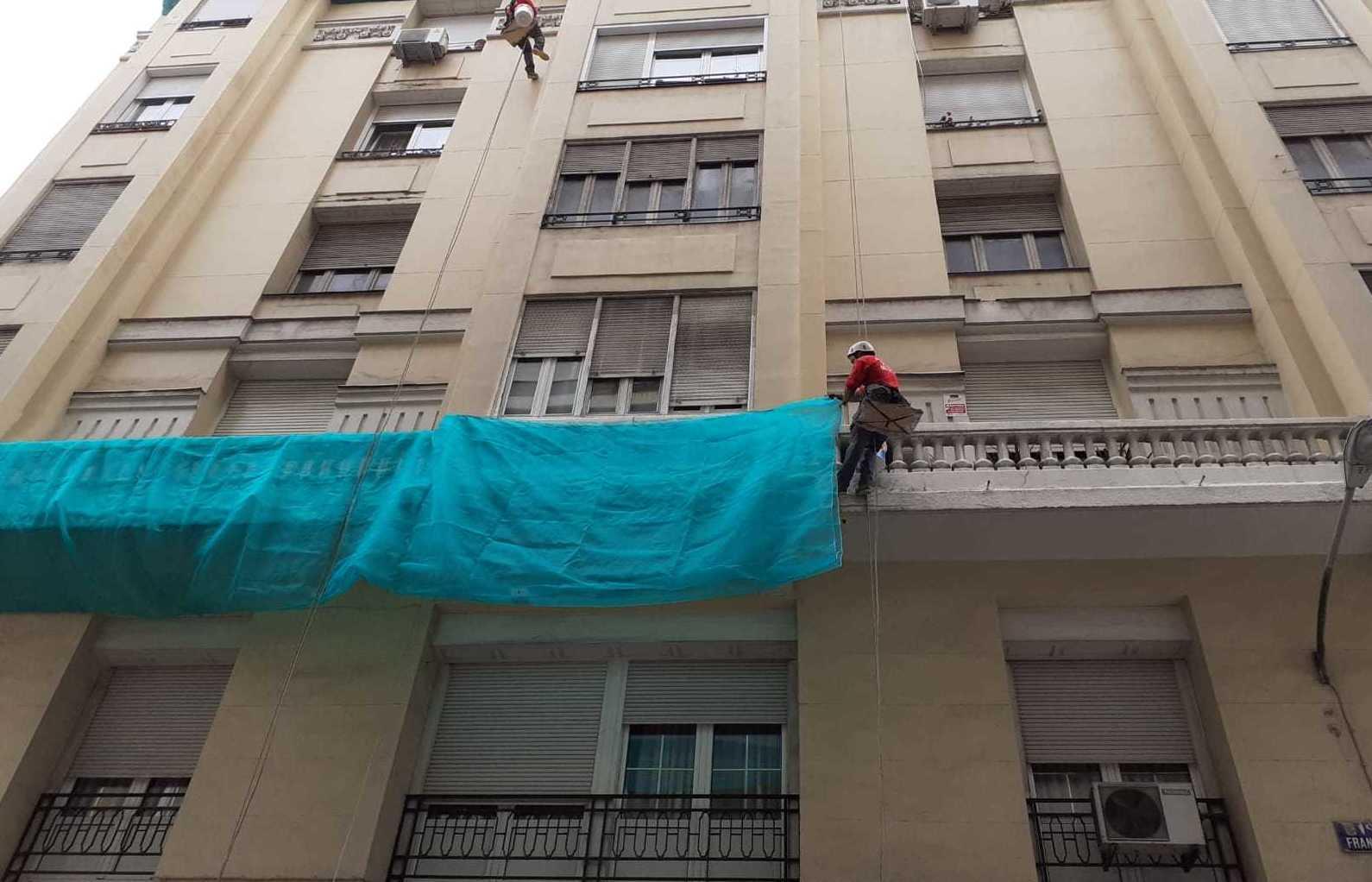 Foto 92 de Trabajos verticales en    Rehabilitaciones y Verticales Vera, S.L.