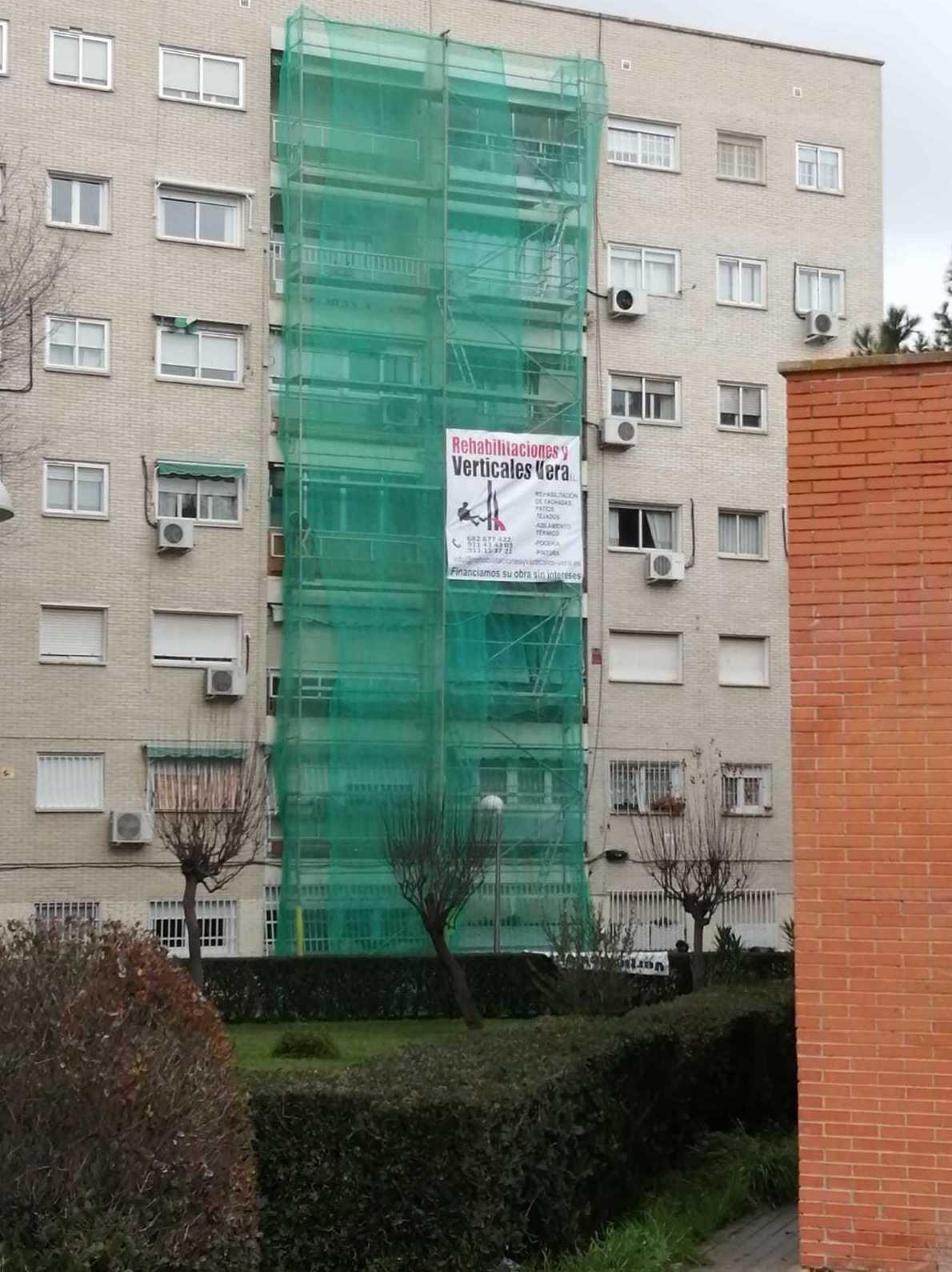 TRABAJO REALIZADO EN LA COMUNIDAD DE CUEVAS DE ALMAZORA N.º 40  MADRID