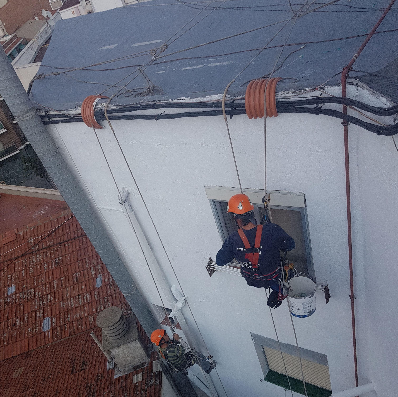 Foto 202 de Trabajos verticales en    Rehabilitaciones y Verticales Vera, S.L.