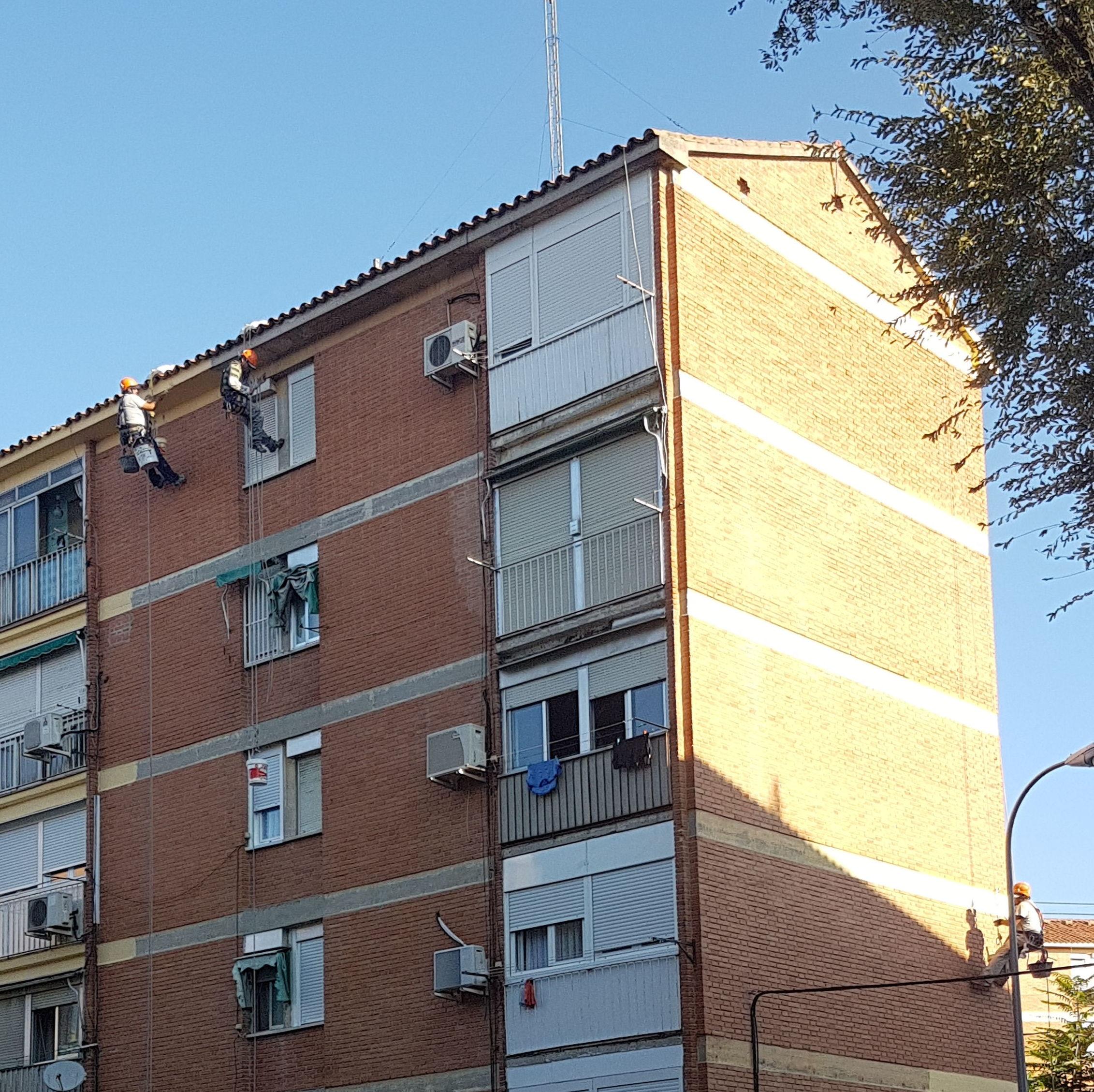 Foto 232 de Trabajos verticales en  | Rehabilitaciones y Verticales Vera, S.L.