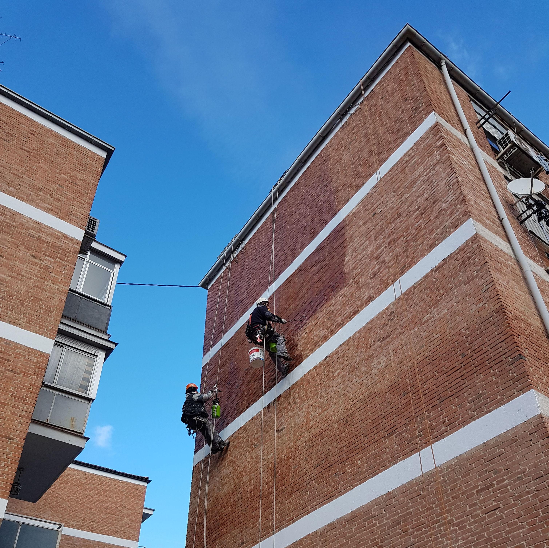 Foto 263 de Trabajos verticales en    Rehabilitaciones y Verticales Vera, S.L.