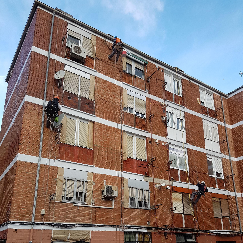Foto 260 de Trabajos verticales en  | Rehabilitaciones y Verticales Vera, S.L.