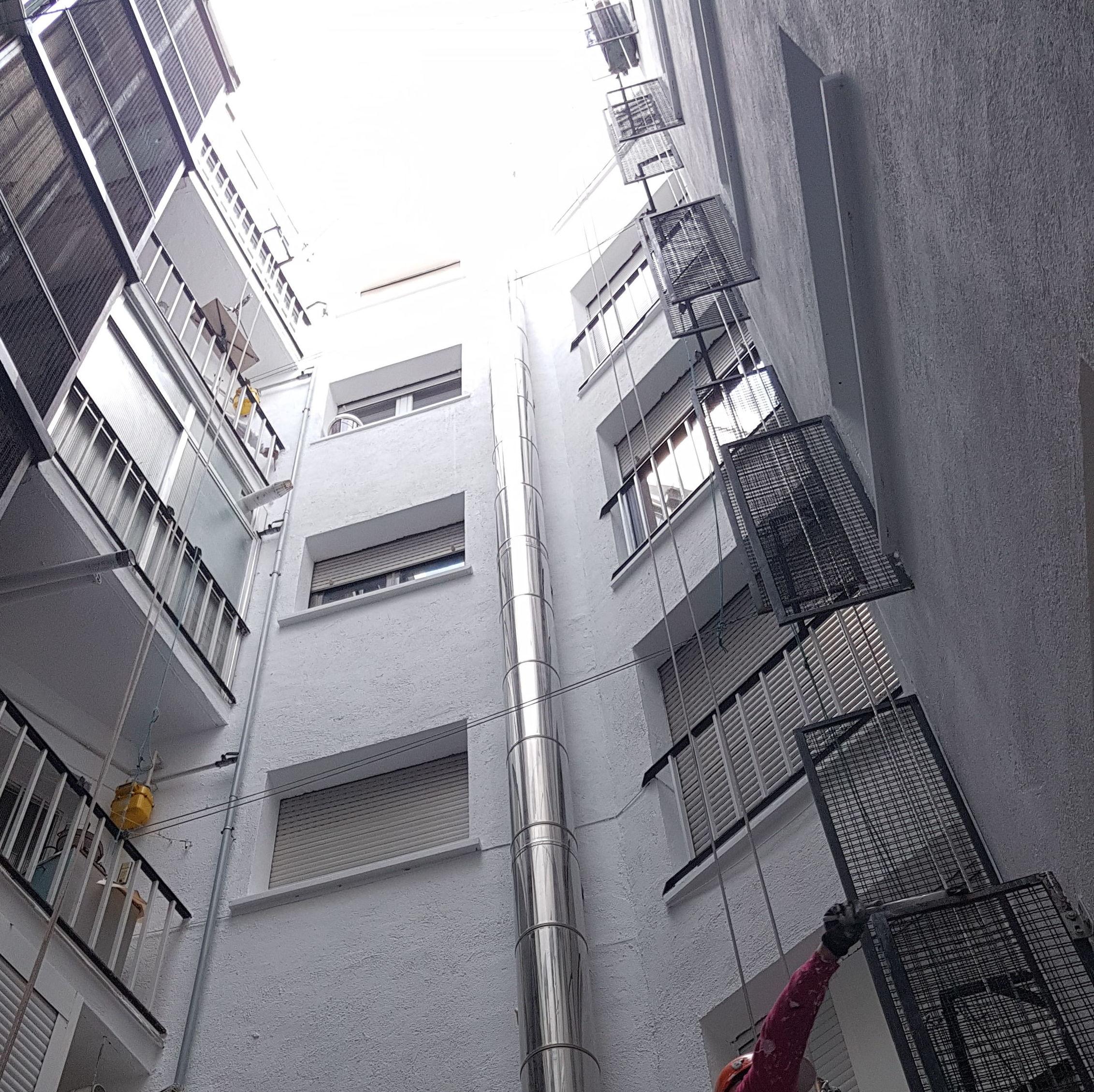 Foto 238 de Trabajos verticales en  | Rehabilitaciones y Verticales Vera, S.L.