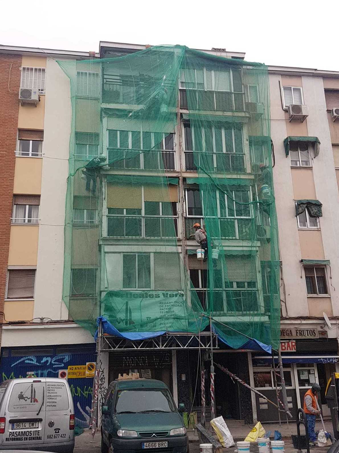 Foto 182 de Trabajos verticales en    Rehabilitaciones y Verticales Vera, S.L.