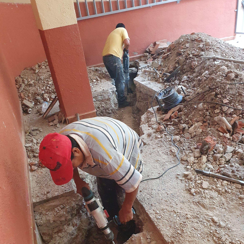 Foto 61 de Trabajos verticales en  | Rehabilitaciones y Verticales Vera, S.L.