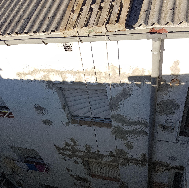 REPARACIÓN Y PINTURA DE PATIOS EN CALLE FORGE Nº 7 EN VICALVARO