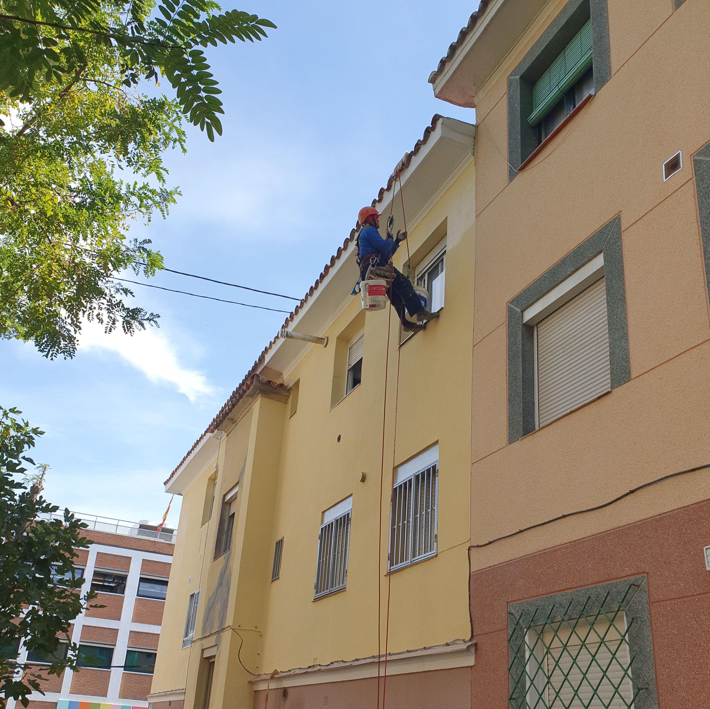 Foto 88 de Trabajos verticales en  | Rehabilitaciones y Verticales Vera, S.L.