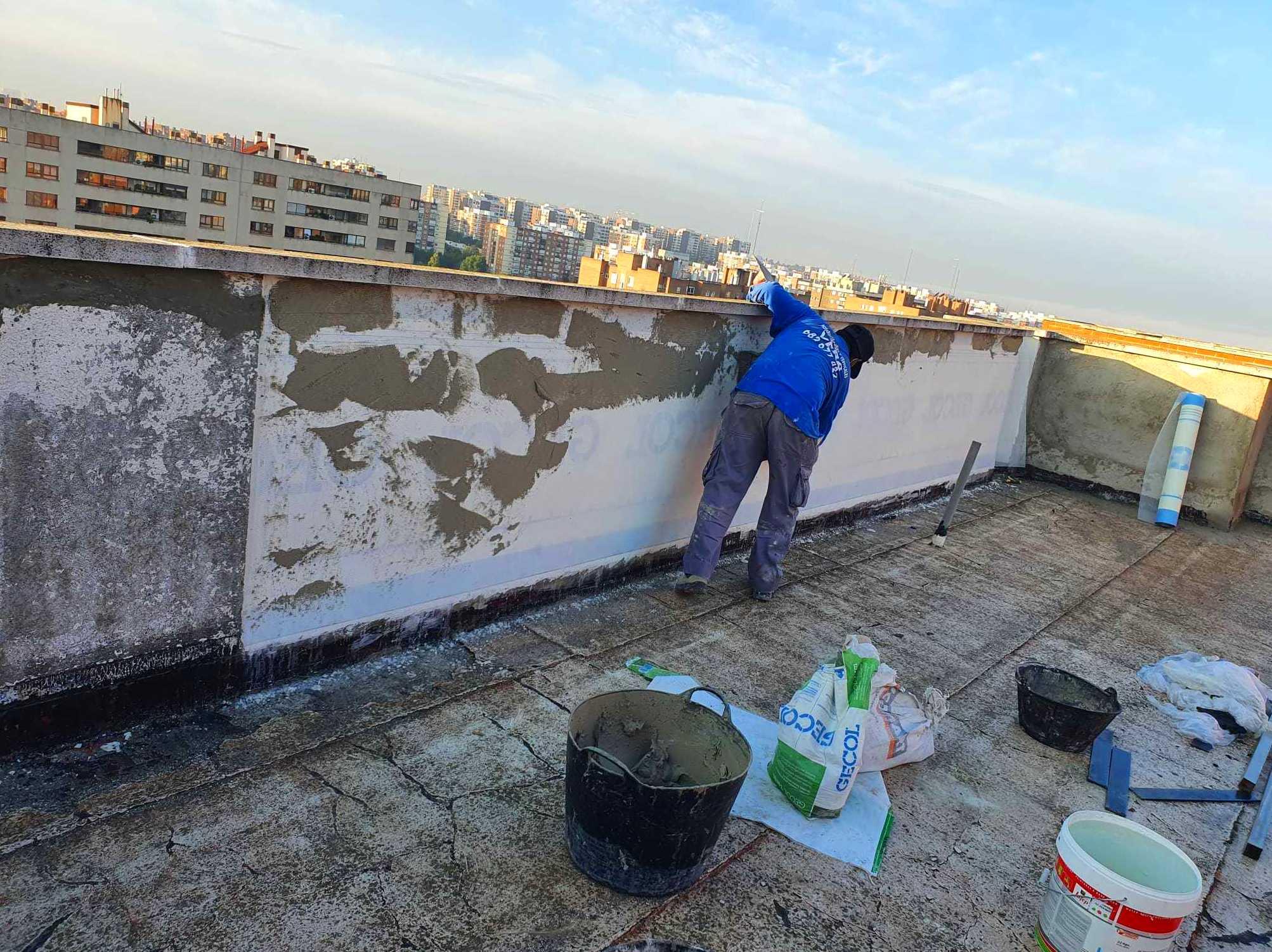 Foto 17 de Trabajos verticales en    Rehabilitaciones y Verticales Vera, S.L.