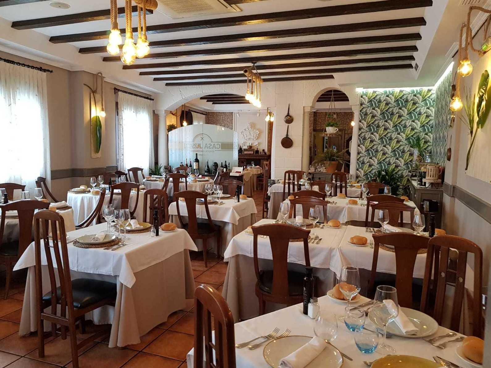 Foto 1 de Cocina castellano-manchega en Tomelloso | Restaurante Casa Justo