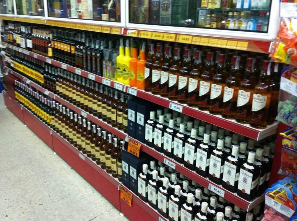 Tienda especializada en licores