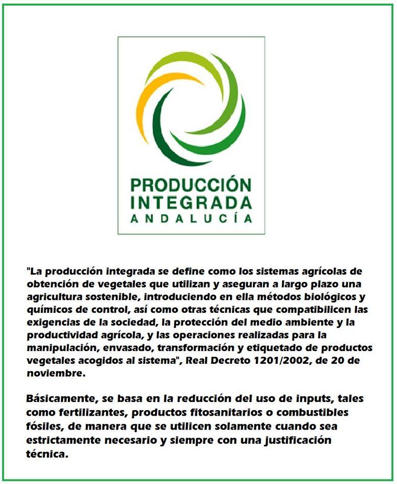¿Qué es Producción Integrada?