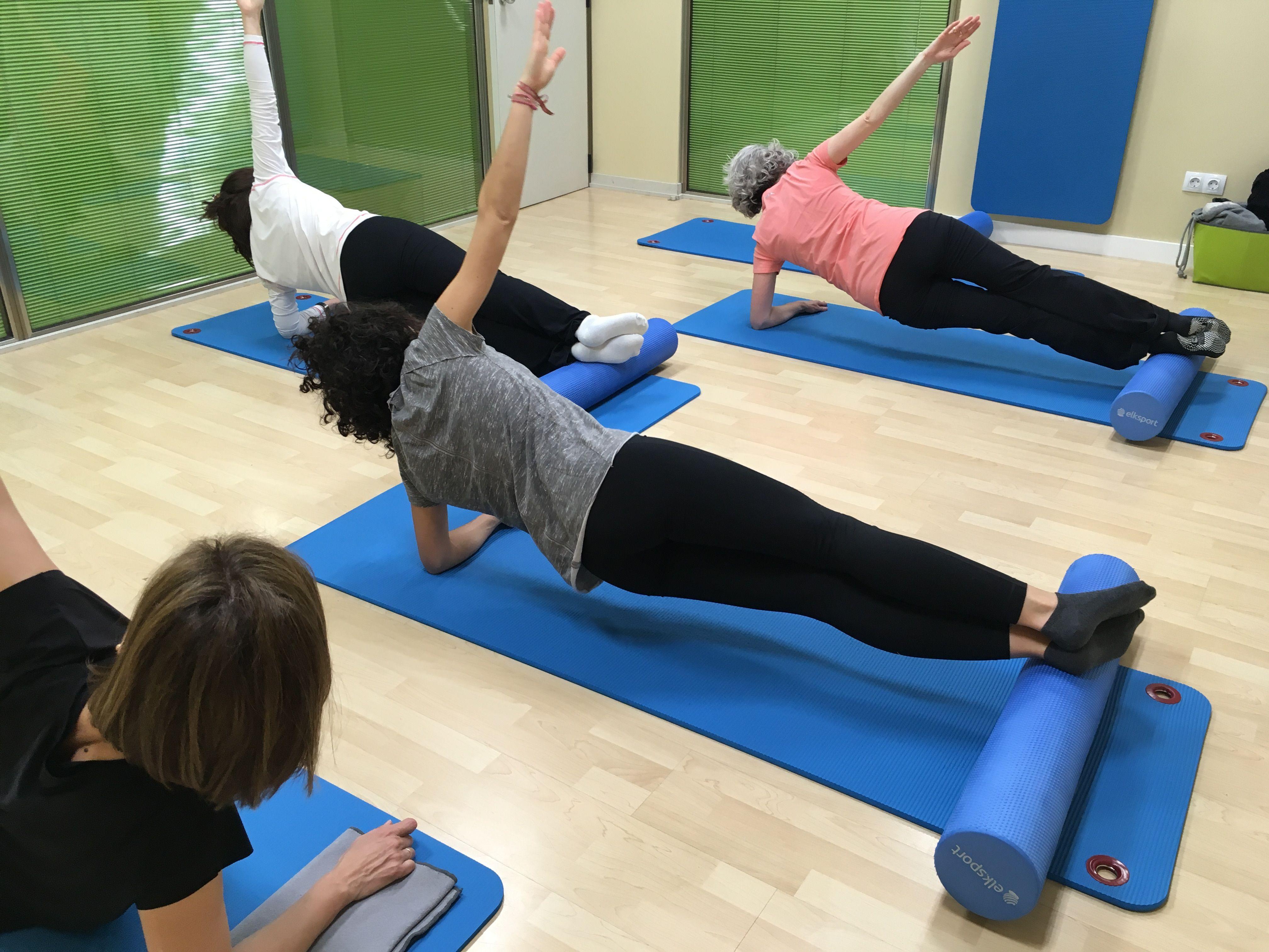 Clases de Pilates seniors en Zaragoza