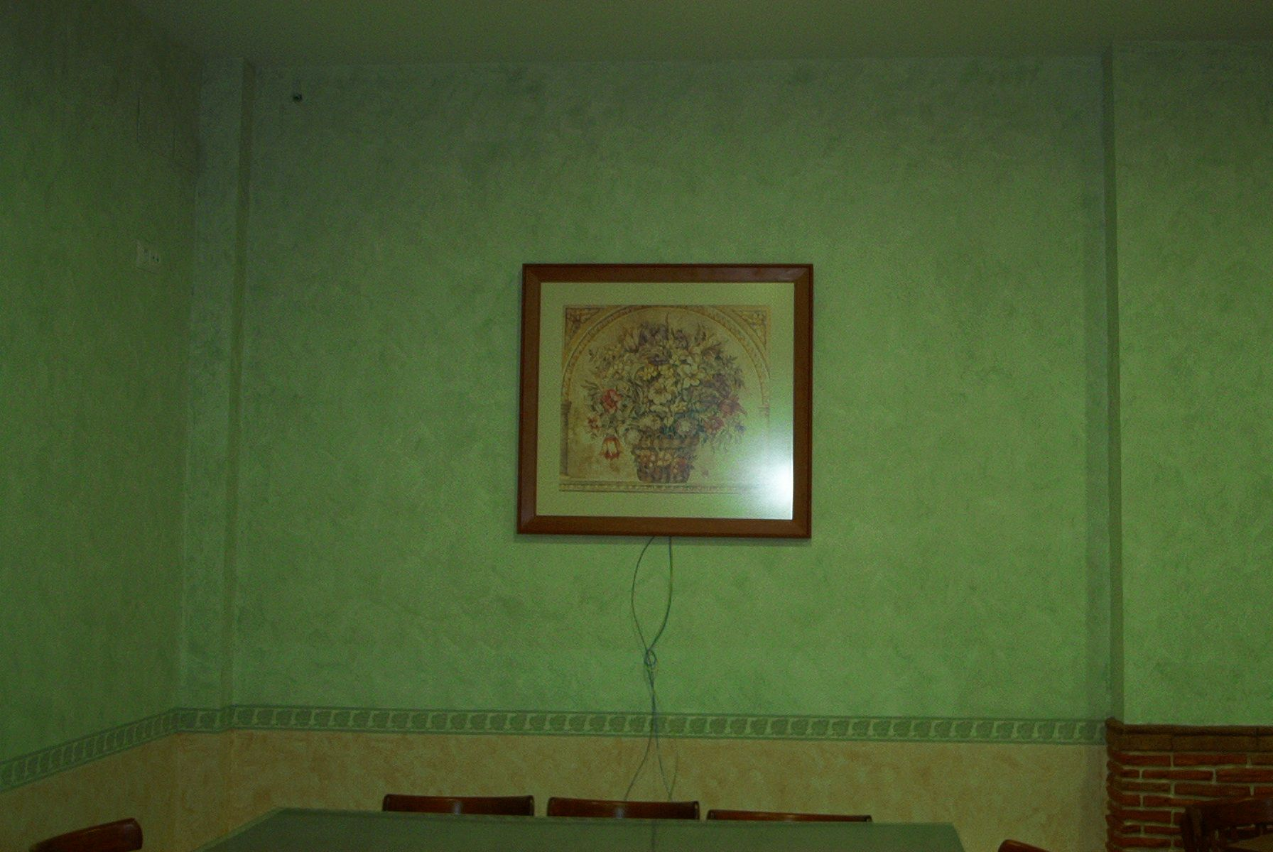 Aplicación de pinturas decorativas