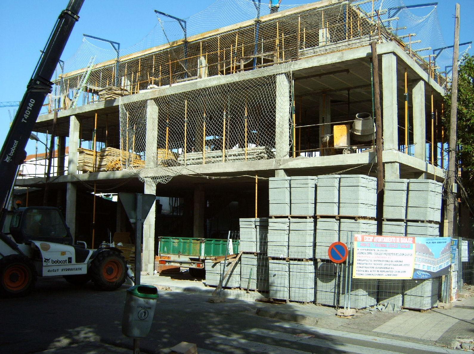 Empresa de construcción de viviendas y edificios en Badajoz