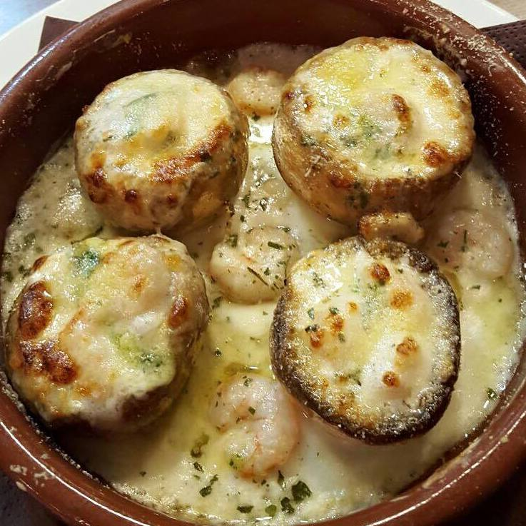 Gratinados: Nuestros platos  de Il Romeo Trattoria Pizzería