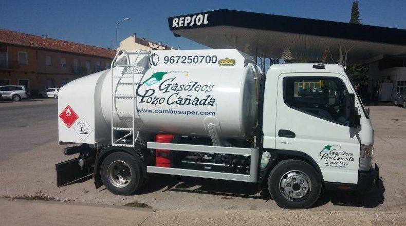 Reparto de gasóleos a domicilio en Albacete
