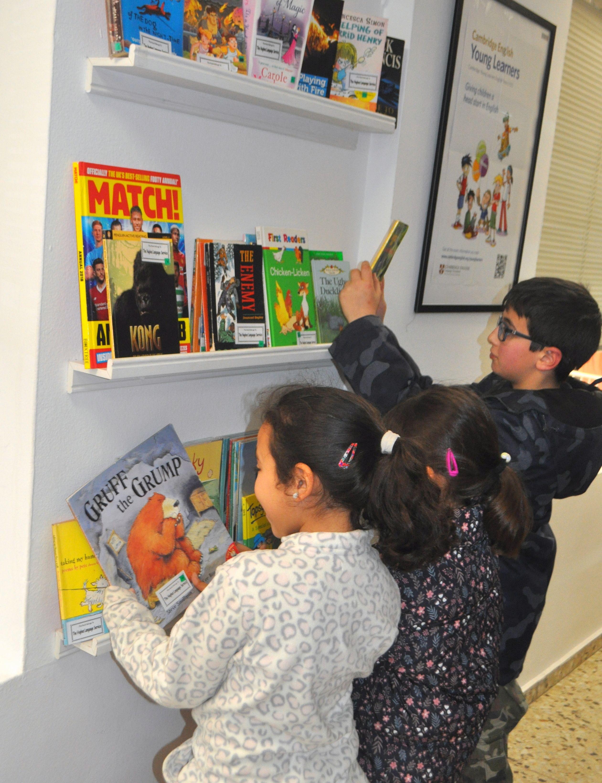 Clases de inglés para niños en Vilassar de Mar