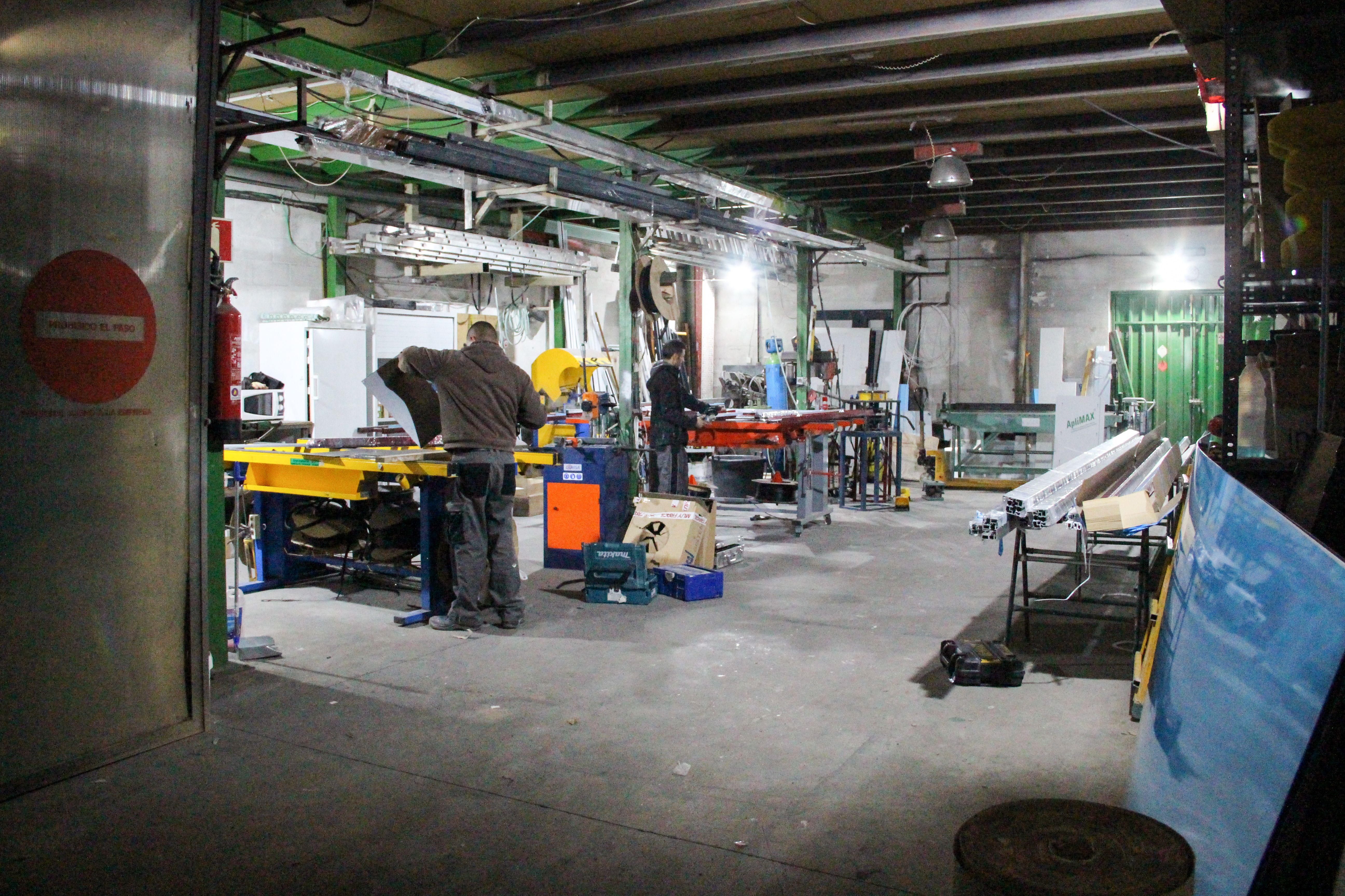 Taller Carpintería de aluminio y PVC
