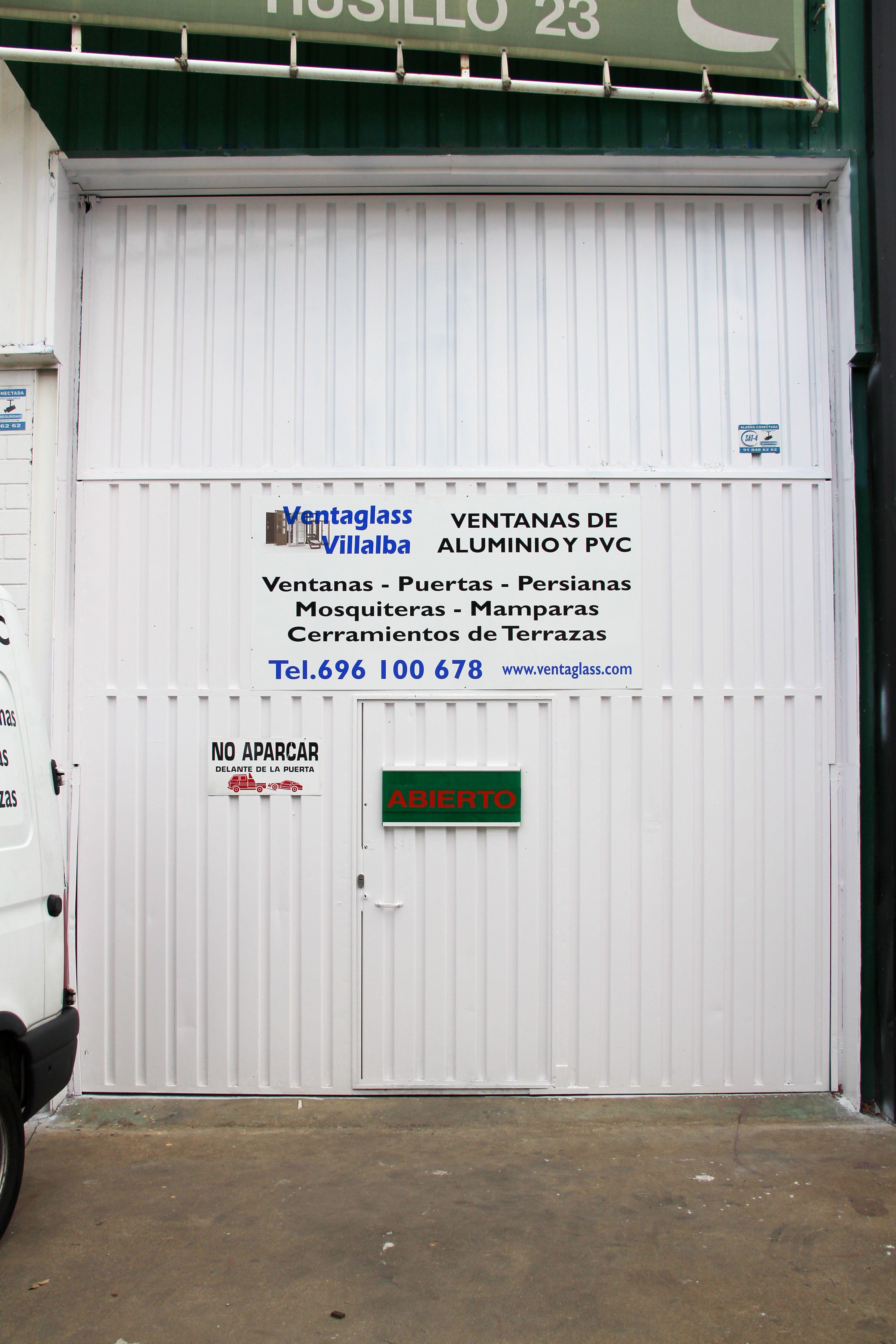 Entrada nave VENTAGLASS VILLALBA