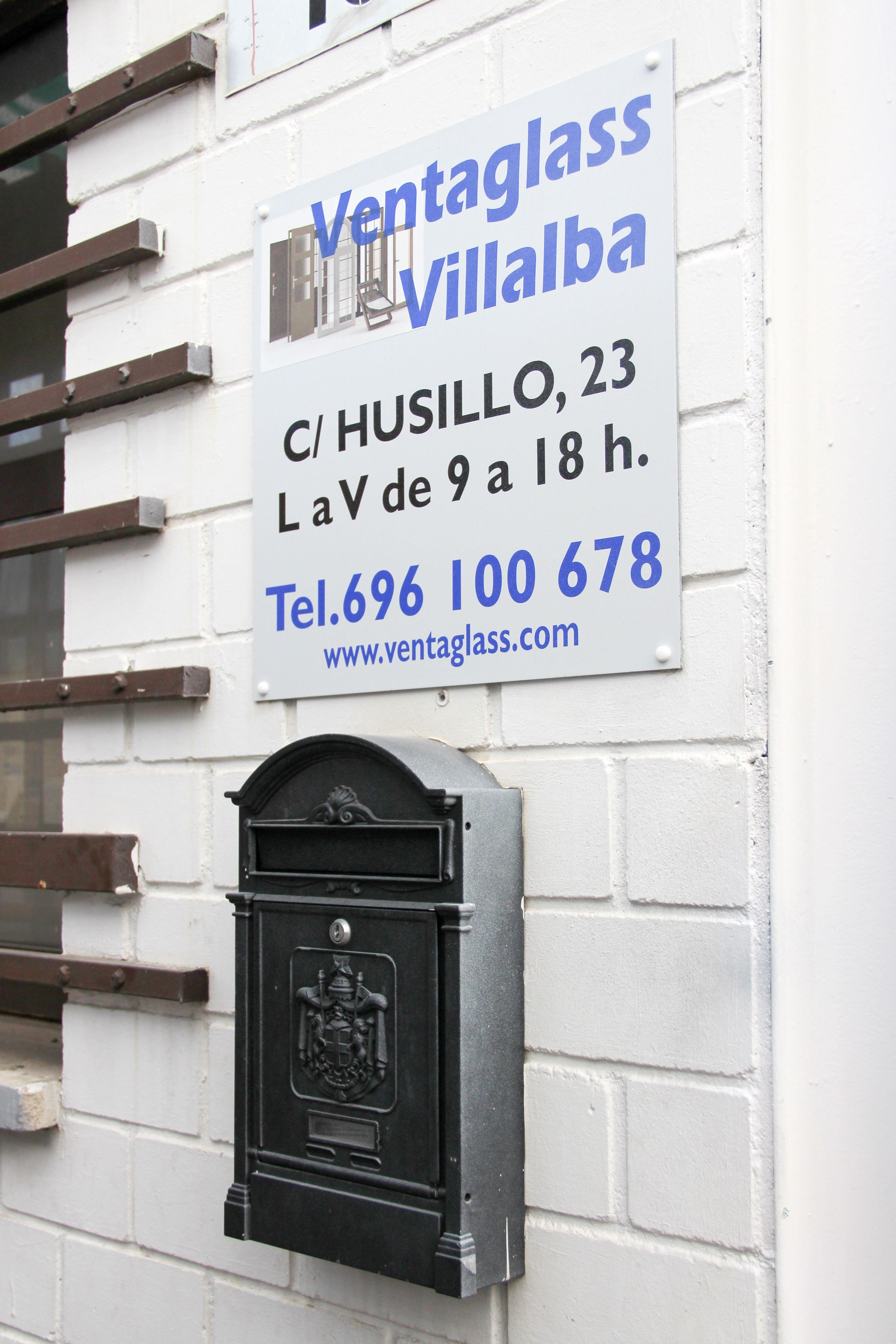 Cartel Ventaglass Villalba