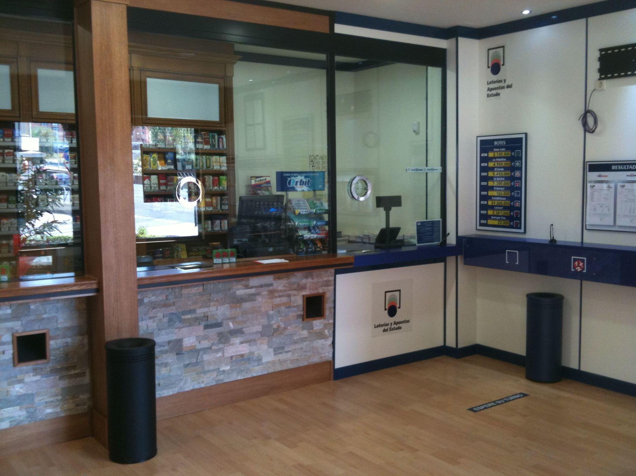 Sistemas de seguridad para administraciones de lotería