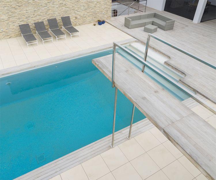 Construcción de piscina en Tenerife