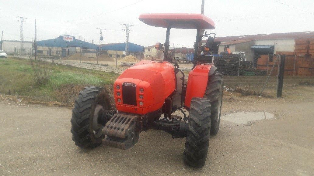 Same Tiger 70: Nuestros tractores de Tractores José Carlos Martín