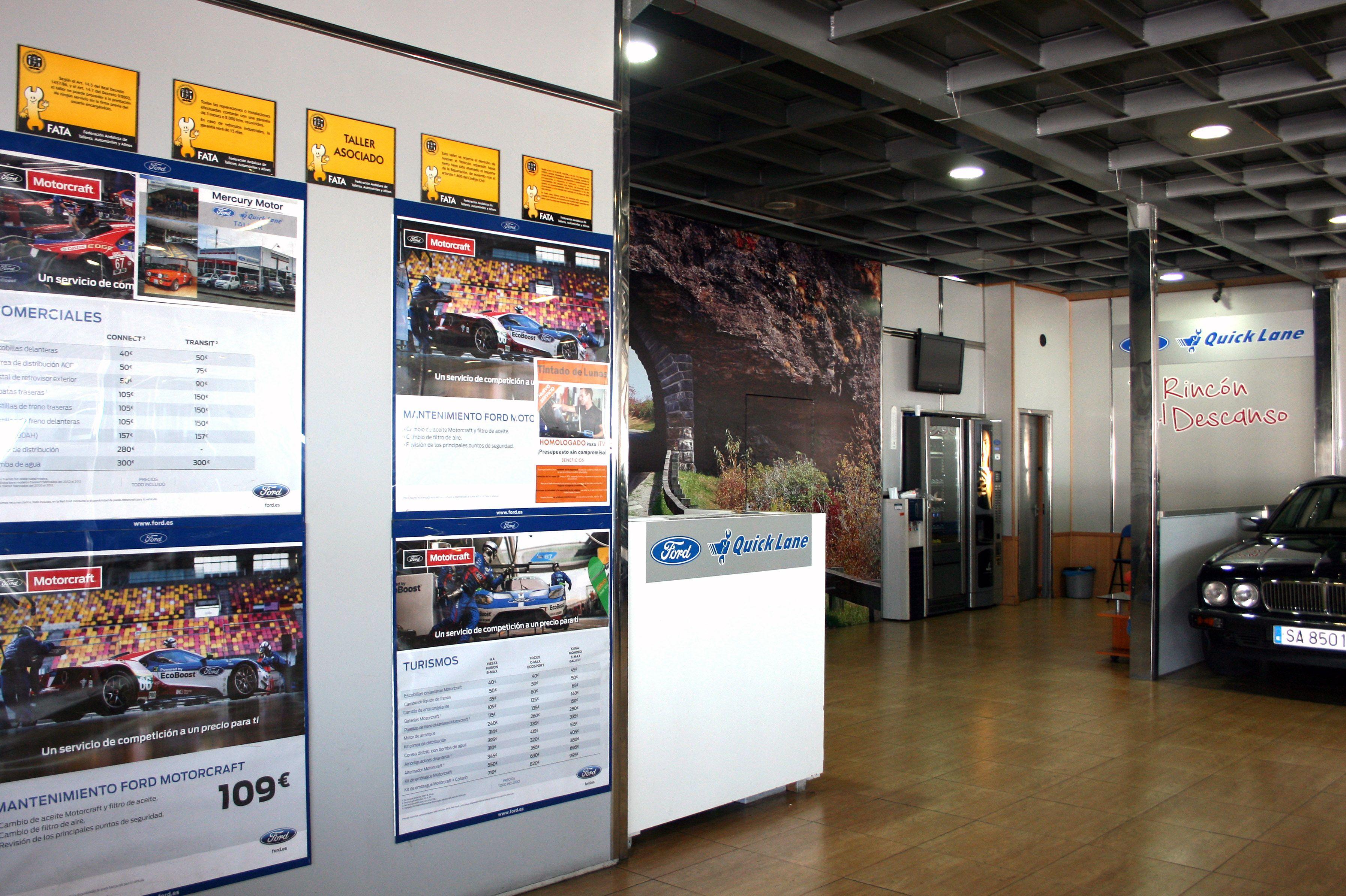 Concesionario de coches de la marca Ford en Albolote