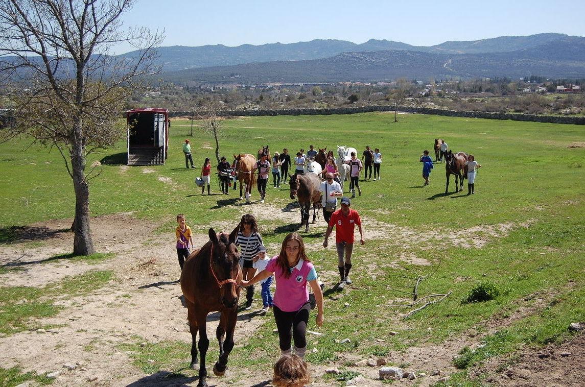 Rutas a caballo por la Sierra Oeste de Madrid
