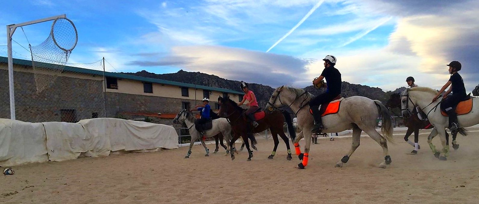 ENTRENAMIENTO HORSEBALL