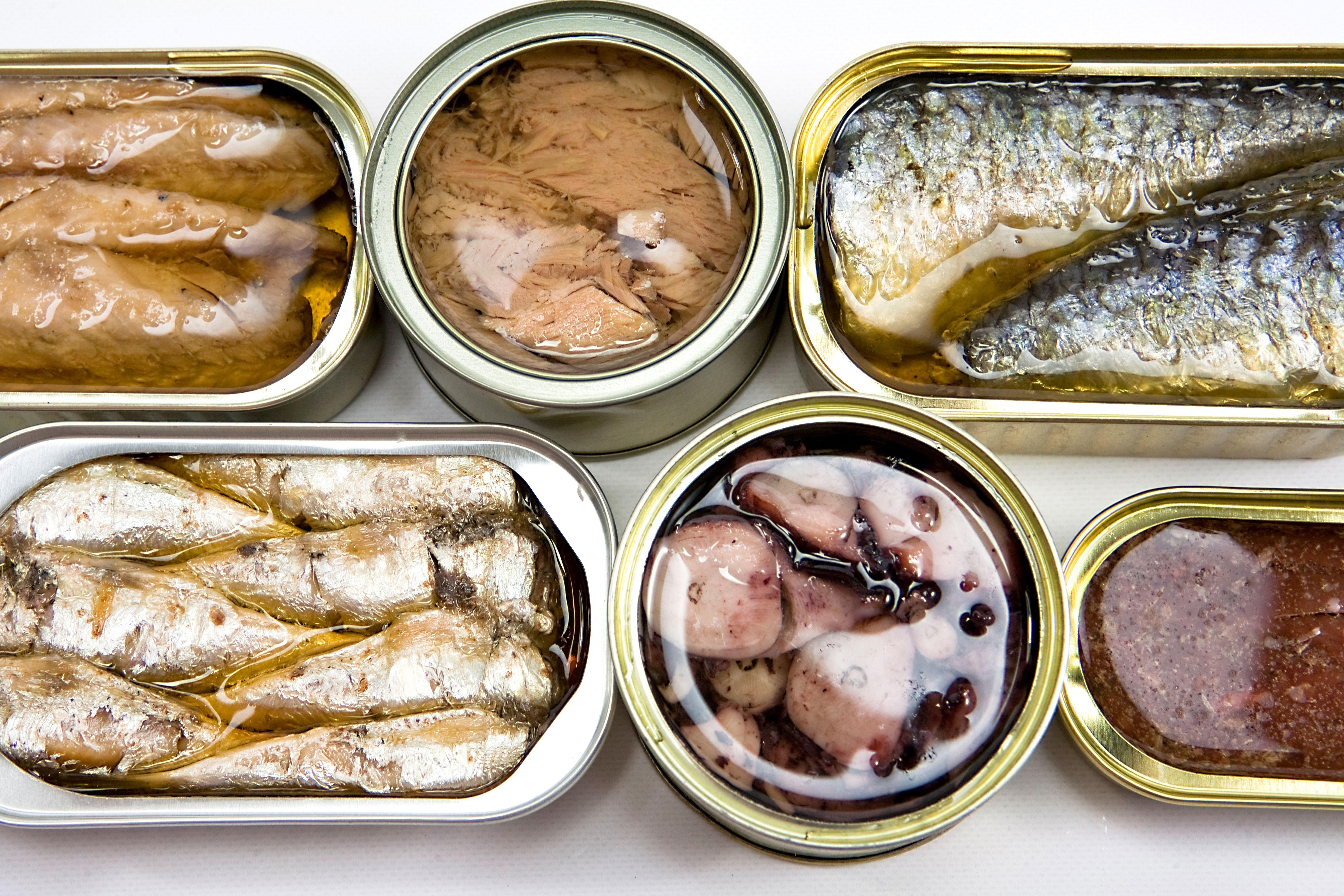 Distribución de conservas de pescado en Madrid