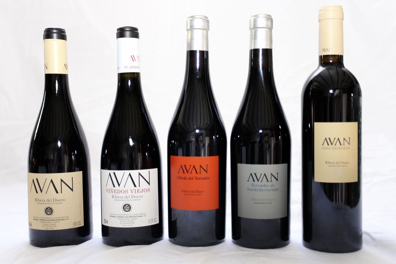 Variedades de vino Avan