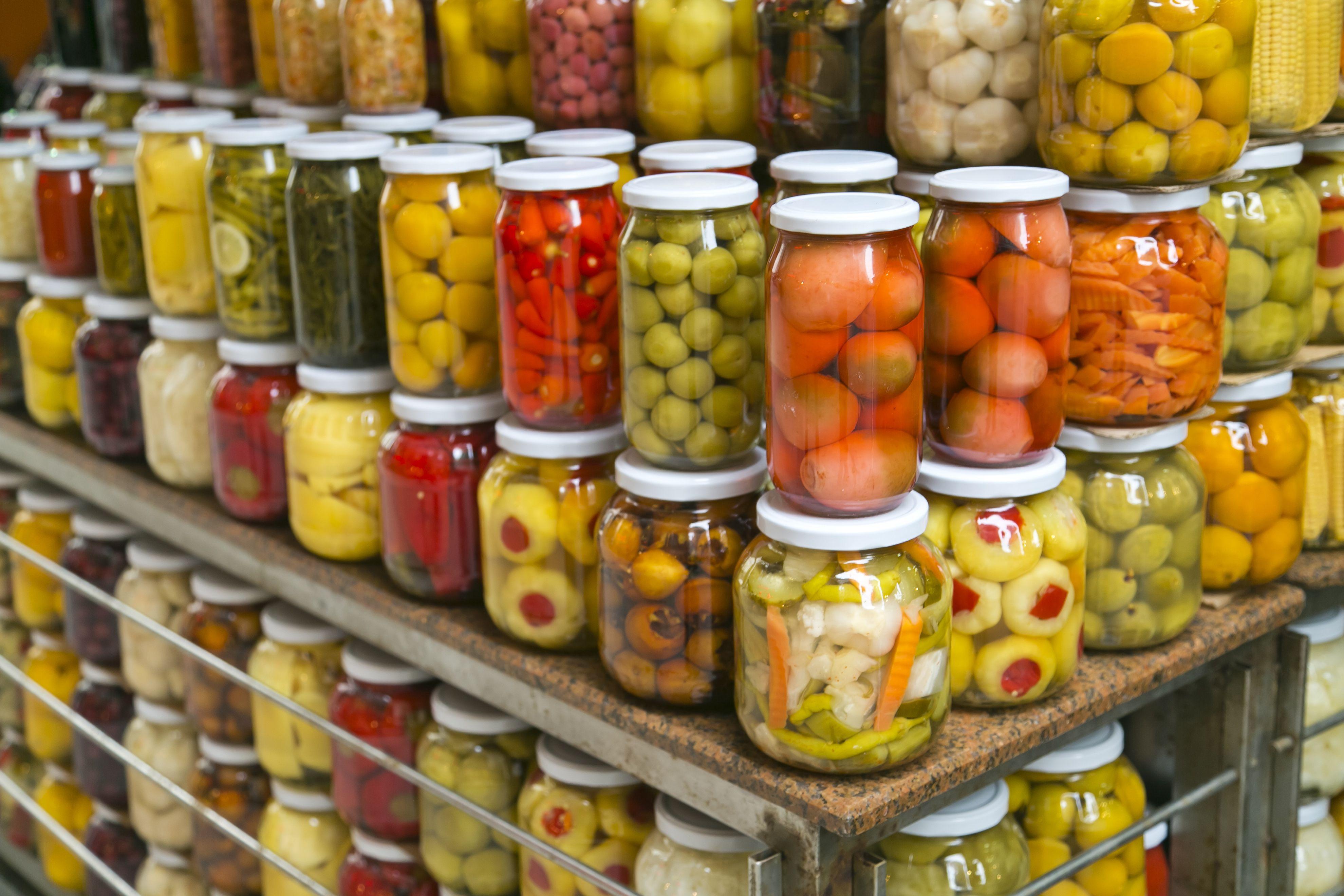 Distribución de conservas vegetales en Madrid