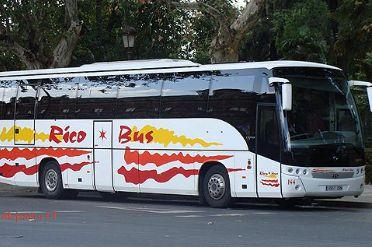 Alquiler de autobuses: Servicios de Rico Bus