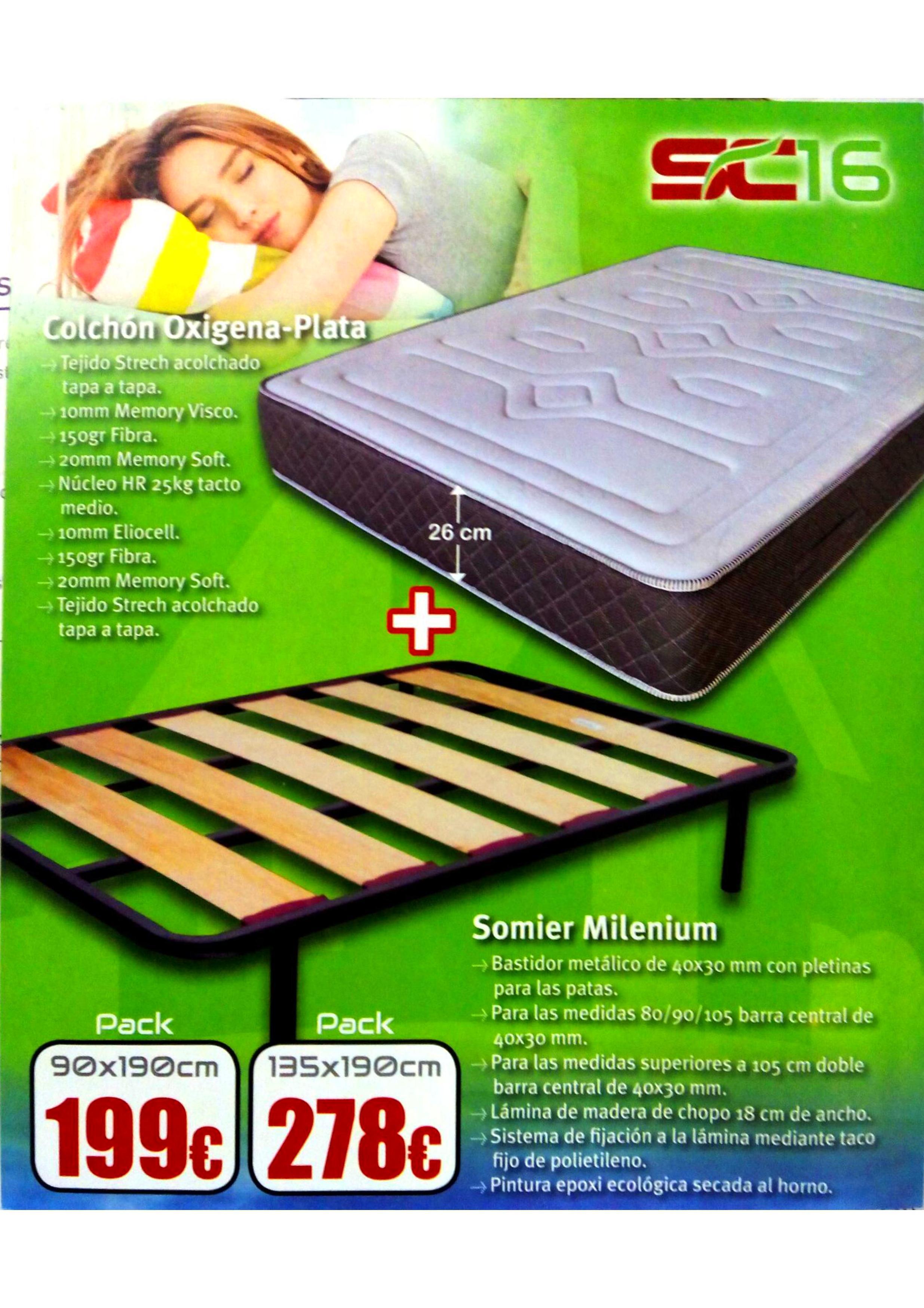Packs ahorro descanso : Catálogo de Sofacicos