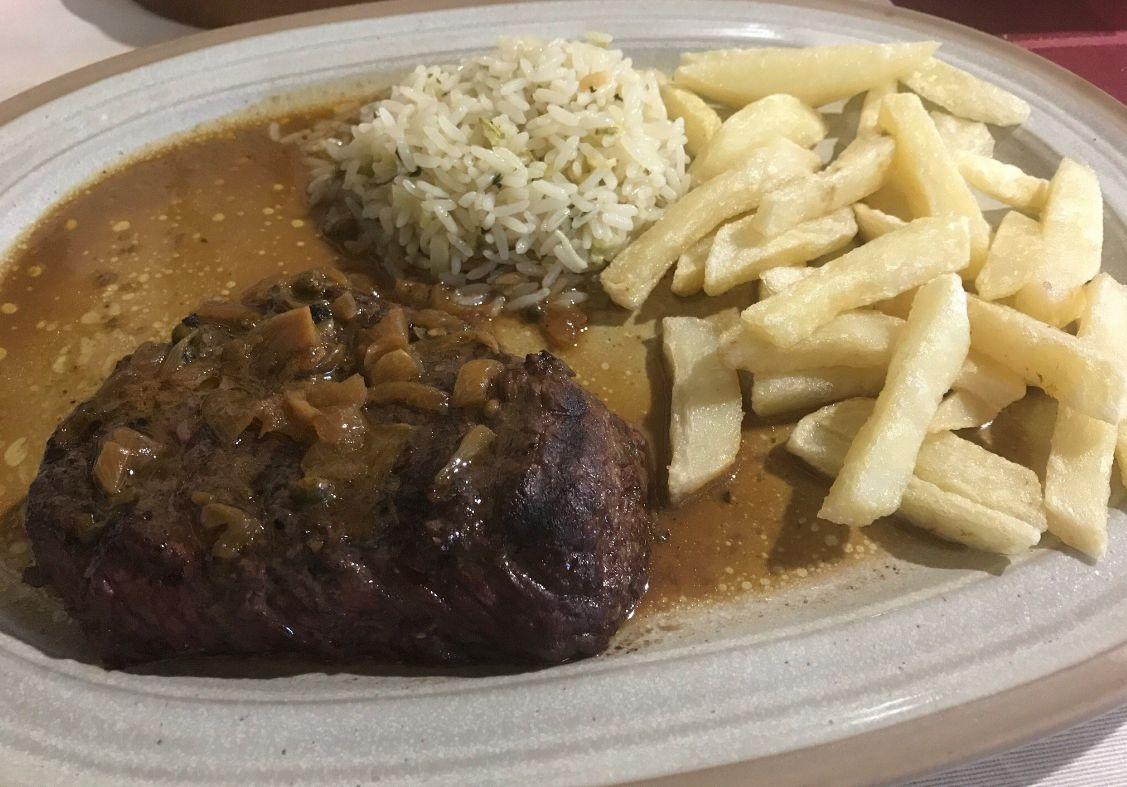 Carnes a la brasa en Tijano