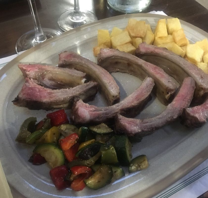 Carnes a brasa en Tijano