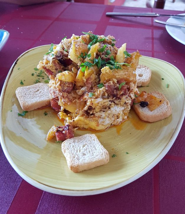 Cocina tradicional en Tijano
