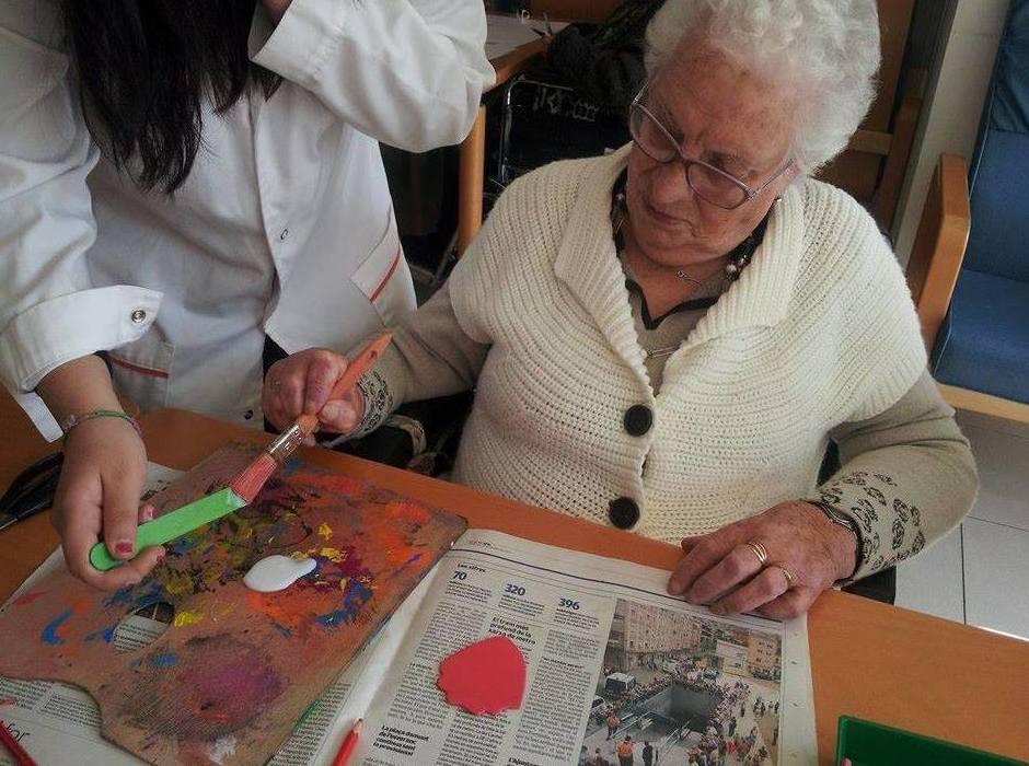Terapia ocupacional : Servicios de Casa Pairal Fundación Privada