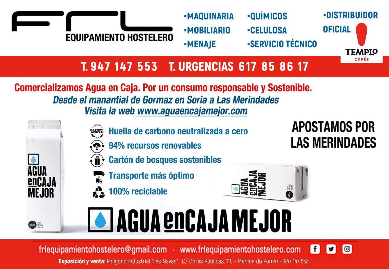 Foto 1 de Hostelería (instalaciones y suministros) en Medina de Pomar | FRL Equipamiento Hostelero
