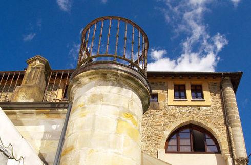 El restaurante Lasa se encuentra en el Palacio de Ozaeta, en Bergara (Guipúzcoa)