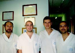 Fisioterapeutas de nuestro centro en hortaleza