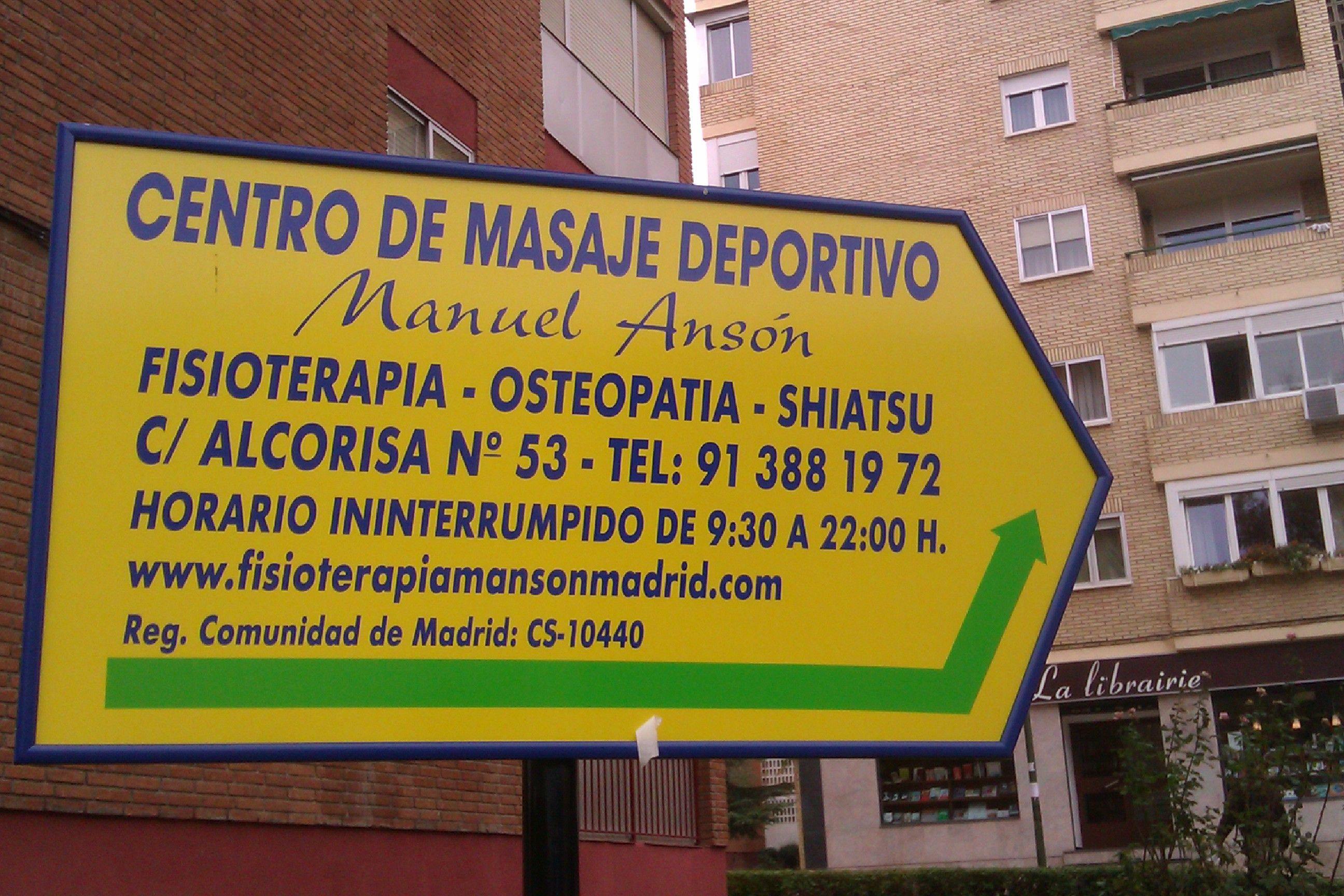 Foto 7 de Fisioterapia en Madrid | Ansón Manuel