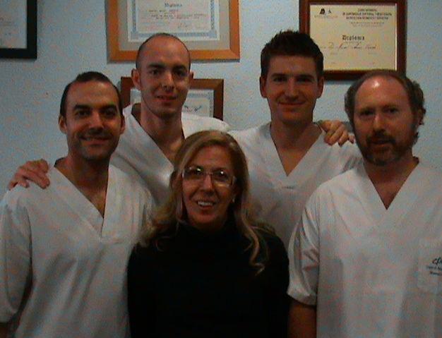 Equipo profesional de Fisioterapia Ansón