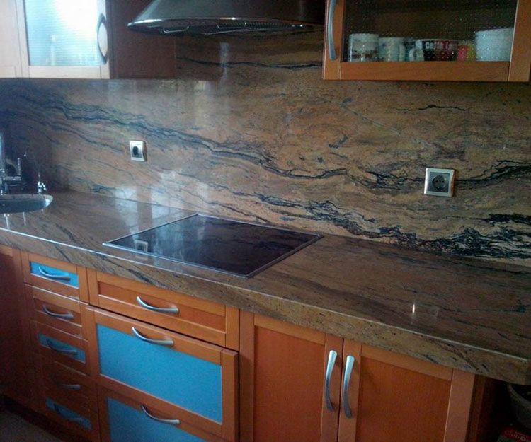Encimeras de mármol para cocinas en Asturias